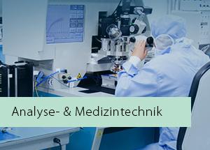 Analyse und Medizintechnik