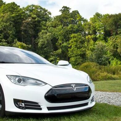 The switch of the automotive industry towards complete electric cars like this Tesla will have a major impact on aluminium foundries as suppliers.